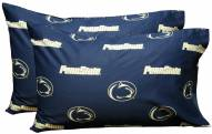Penn State Nittany Lions Printed Pillowcase Set