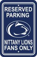 Penn State Nittany Lions College Parking Sign