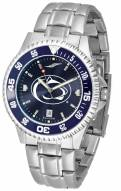 Penn State Nittany Lions Competitor Steel AnoChrome Color Bezel Men's Watch