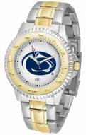 Penn State Nittany Lions Competitor Two-Tone Men's Watch