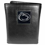 Penn State Nittany Lions Deluxe Leather Tri-fold Wallet in Gift Box