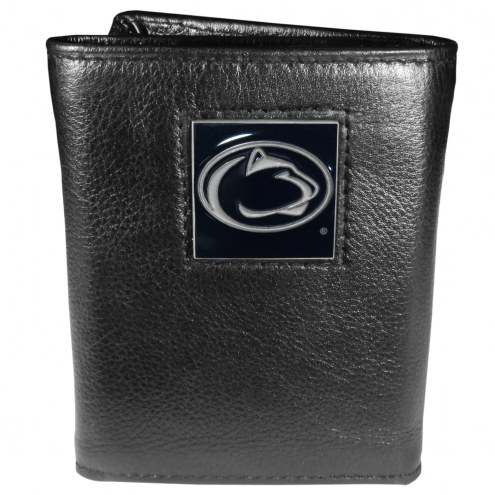 Penn State Nittany Lions Deluxe Leather Tri-fold Wallet