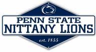 Penn State Nittany Lions Diamond Panel Metal Sign