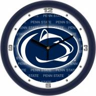 Penn State Nittany Lions Dimension Wall Clock