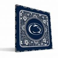 Penn State Nittany Lions Eclectic Canvas Print