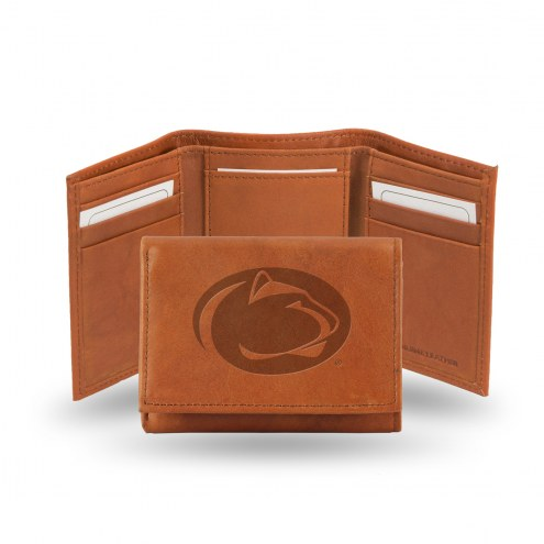 Penn State Nittany Lions Embossed Tri-Fold Wallet