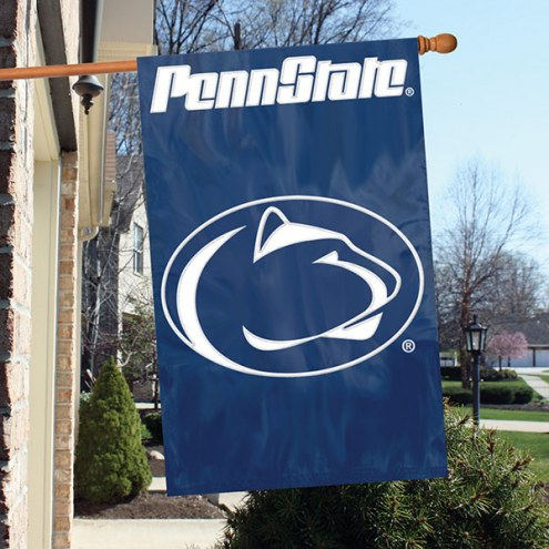 Penn State Nittany Lions NCAA Embroidered / Applique College Flag Banner