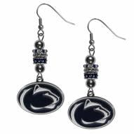 Penn State Nittany Lions Euro Bead Earrings