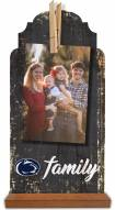 Penn State Nittany Lions Family Tabletop Clothespin Picture Holder