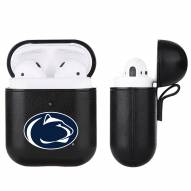Penn State Nittany Lions Fan Brander Apple Air Pods Leather Case