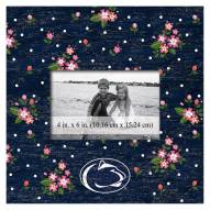 "Penn State Nittany Lions Floral 10"" x 10"" Picture Frame"