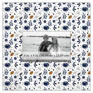 "Penn State Nittany Lions Floral Pattern 10"" x 10"" Picture Frame"