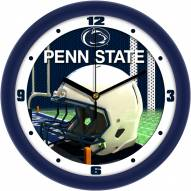 Penn State Nittany Lions Football Helmet Wall Clock