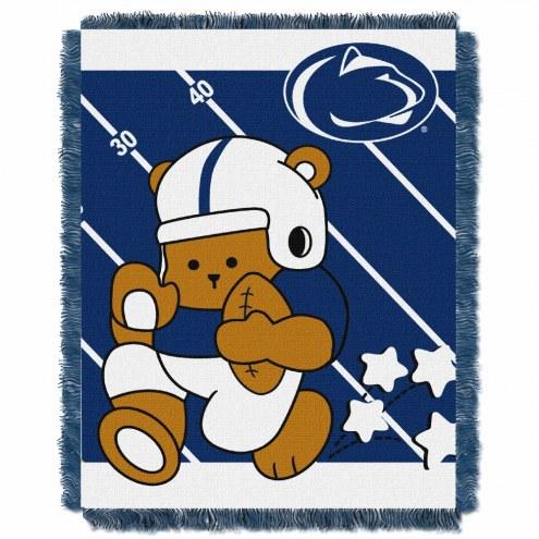 Penn State Nittany Lions Fullback Baby Blanket