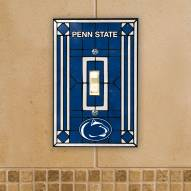 Penn State Nittany Lions Glass Single Light Switch Plate Cover