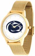 Penn State Nittany Lions Gold Mesh Statement Watch