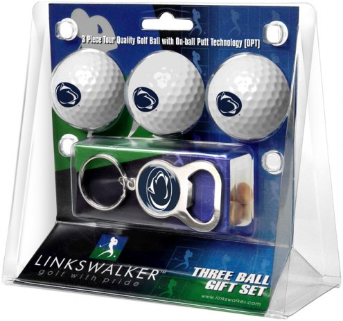 Penn State Nittany Lions Golf Ball Gift Pack with Key Chain