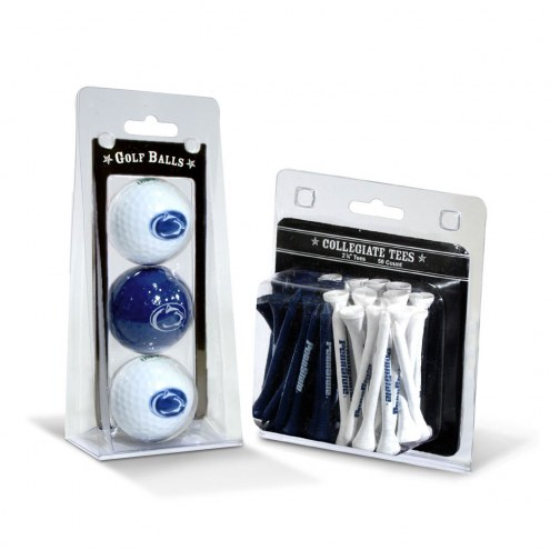 Penn State Nittany Lions Golf Ball & Tee Pack