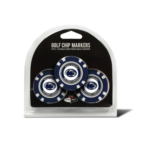 Penn State Nittany Lions Golf Chip Ball Markers
