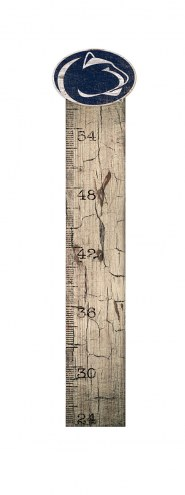 Penn State Nittany Lions Growth Chart Sign