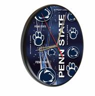 Penn State Nittany Lions Digitally Printed Wood Clock