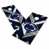 Penn State Nittany Lions Herringbone Cornhole Game Set