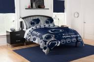 Penn State Nittany Lions Hexagon Full/Queen Comforter & Shams Set
