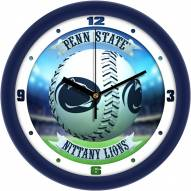 Penn State Nittany Lions Home Run Wall Clock
