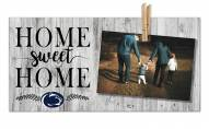 Penn State Nittany Lions Home Sweet Home Clothespin Frame