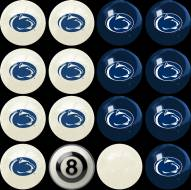 Penn State Nittany Lions Home vs. Away Pool Ball Set