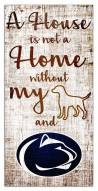 Penn State Nittany Lions House is Not a Home Sign