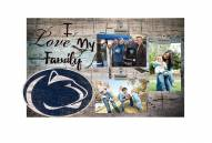 Penn State Nittany Lions I Love My Family Clip Frame