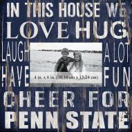 "Penn State Nittany Lions In This House 10"" x 10"" Picture Frame"