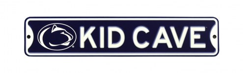 Penn State Nittany Lions Kid Cave Street Sign
