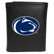 Penn State Nittany Lions Large Logo Leather Tri-fold Wallet