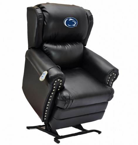 Penn State Nittany Lions Leather Coach Lift Recliner