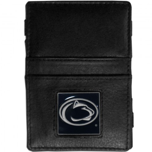 Penn State Nittany Lions Leather Jacob's Ladder Wallet