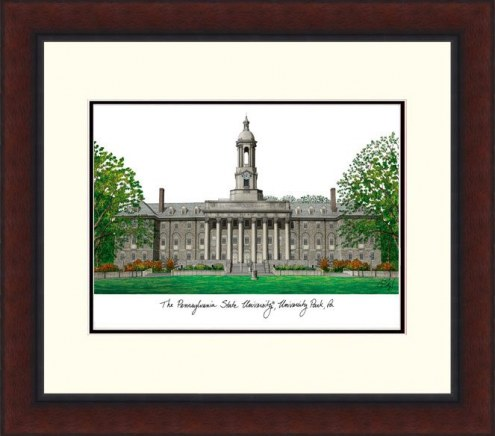 Penn State Nittany Lions Legacy Alumnus Framed Lithograph