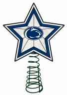 Penn State Nittany Lions Light Up Art Glass Tree Topper