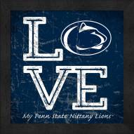 Penn State Nittany Lions Love My Team Color Wall Decor
