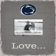 Penn State Nittany Lions Love Picture Frame