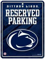 Penn State Nittany Lions Metal Parking Sign