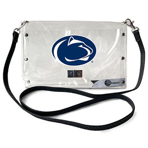 Penn State Nittany Lions Clear Envelope Purse