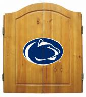 Penn State Nittany Lions NCAA Complete Dart Board Cabinet Set