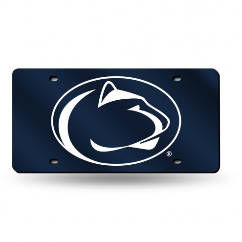 Penn State Nittany Lions NCAA Laser Cut License Plate