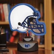 Penn State Nittany Lions Neon Helmet Desk Lamp