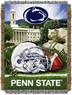 Penn State Nittany Lions NCAA Woven Tapestry Throw / Blanket