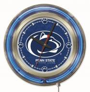 Penn State Nittany Lions Neon Clock