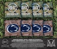 Penn State Nittany Lions Operation Hat Trick Cornhole Bag Set
