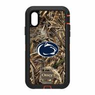Penn State Nittany Lions OtterBox iPhone XR Defender Realtree Camo Case